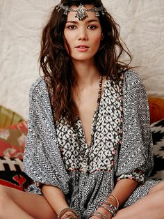 Free People FP ONE Mix Print Tunic at Free People Clothing Boutique