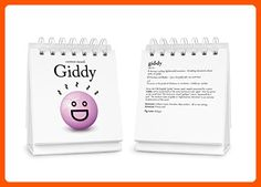 Fred THE DAILY MOOD Desk Flipchart - Refine your workspace (*Amazon Partner-Link)
