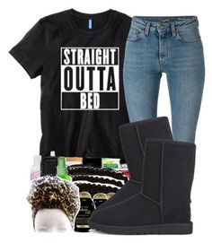 """""""."""" by ray-royals ❤ liked on Polyvore featuring mode, Yves Saint Laurent en UGG Australia"""