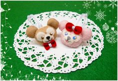 Duffy & ShellieMay Christmas Ornament Pattern | My Happy Finger