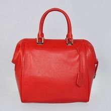 Louis Vuitton Calfskin Leather Tote Bag - Red 93811  $239.00