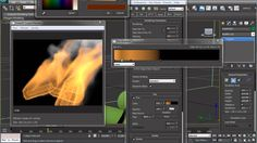 Tutorial - Simulating A Campfire With 3D Studio Max, Thinking Particles ...