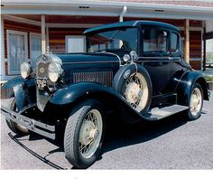 Ford : Model A Deluxe Coupe Pristine Classic 1930 - http://www.legendaryfinds.com/ford-model-a-deluxe-coupe-pristine-classic-1930/