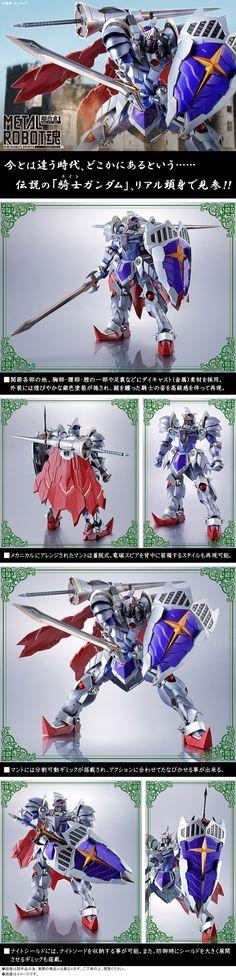 TAMASHII WEB EXCLUSIVE: METAL ROBOT魂 KNIGHT GUNDAM (Real Type Ver.) JUST ADDED NEW Images, Info Release | GUNJAP