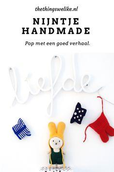 Tijmens Favourites: Nijntje Handmade - The things we like Miffy, Baby Knitting, Kids Room, Handmade, Crafts, Room Kids, Hand Made, Manualidades, Child Room