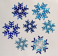 Fused Glass snowflakes at Glass by Erica