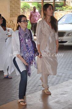 Kareena Kapoor's shalwar kameez. Tots classy!