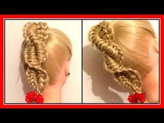 THE TWISTED REVERSE CHINESE LADDER BRAID / HairGlamour Styles / Hairstyles / Hair Tutorial - YouTube