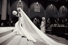 THIS is why I want a long, beautiful veil.