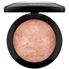 MAC 'Mineralize' Skinfinish ($30) ❤ liked on Polyvore featuring beauty products, makeup, face makeup, highlighter, mac cosmetics makeup, mineral cosmetics, mac cosmetics and mineral makeup