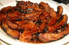 Honey-Ginger Balsamic Barbeque Ribs Finger lickin good, stick to your ribs BBQ ribs! Made with Branch and Vine Honey Ginger White Balsamic and Branch and Vine Toasted Sesame Oil Balsamic Vinegar Recipes, White Balsamic Vinegar, Balsamic Glaze, Honey Glaze, Rib Recipes, Healthy Recipes, Fall Recipes, Healthy Food, Smoker Cooking