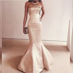 Simple Mermaid Celebrity Prom Dresses Pst0154 on Luulla