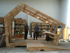I went and checked out the Wikihouse in Christchurch last week. Even more impressive up close. http://spacecraft.co.nz/