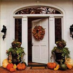 Image Search Results for fall door decorations