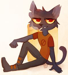 "maplespyderart: ""it'ssssss cOOL CAT """