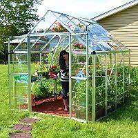 Snap & Grow Silver Greenhouse - 8' × 8' - Sam's Club