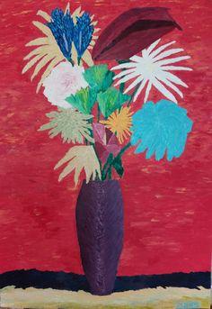 Martwa natura 1 to obraz zainspirowany stylem awangardowym. Elementy kompozycji kwiatowej różnią się od siebie, tworząc zaskakujący efekt.   Obraz do kupienia na: https://www.artmakers.pl/artwork/mateusz-zeniuk/martwa-natura-1
