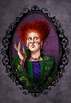 Winifred Sanderson by Christopher Ables [©2016]
