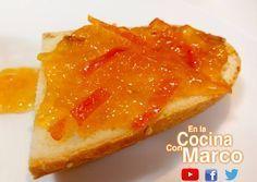 Mermelada de naranjas casera - Receta autentica italiana Jam Recipes, Sweet Recipes, Spanish Food, Cilantro, Preserves, Pickles, French Toast, Meat, Cooking