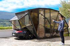 drie in een - gazebox, multifunctionele garage - wonen voor mannen