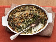 Spinach Gratin Recipe : Ina Garten : Food Network