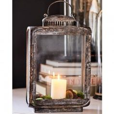 Hackney Square Lantern - Coming Soon Lantern Chandelier, Candle Lanterns, Candle Sconces, Mood Light, Bird Cage, Fairy Lights, Decoration, French Vintage, Candlesticks