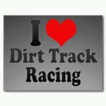 I love dirt track racing!