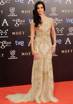 Premios Goya 2014 Clara Lago vestido Zuhair Murad Los vestidos de los Premios Goya 2014