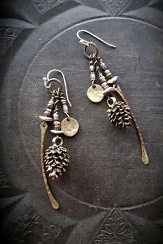 Earrings Everyday: Treasures from the Forest Floor