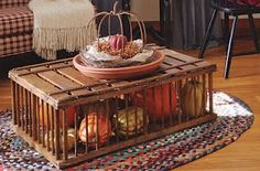 would love to make this from an old chicken crate