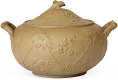 Wedgwood Drabware Prunus Sugar Bowl on OneKingsLane.com