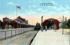Racine - C. & N. W. Depot