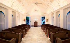 Bayview Wedding Chapel Interior