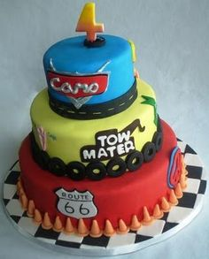 Cars Birthday cake?