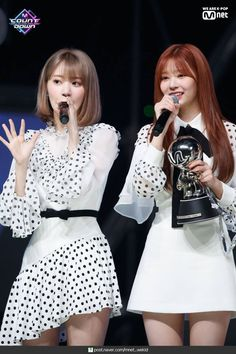 190418 IZ*ONE - Violeta at M Countdown + place celebration. Secret Song, Sakura Miyawaki, Yu Jin, Japanese Girl Group, Famous Girls, Cosmic Girls, Kim Min, Pop Group, One Pic
