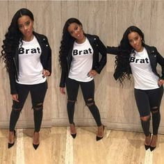 ♥ Angela Simmons's Outfit
