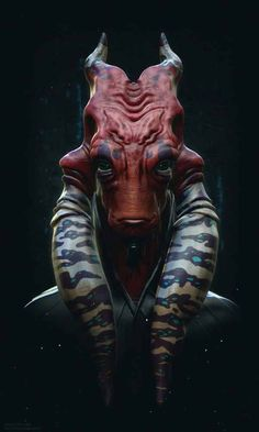 Red Alien Concept By Clovis Henrique