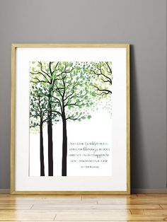 May Your Troubles Be Less Irish Blessing Wall Art Print