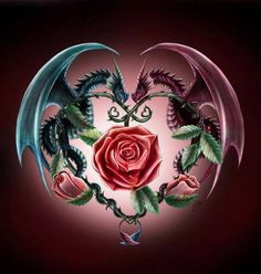 Ever Moment Needlework DIY Diamond Painting Animal Dragon Rose Flower Fantasy Patterns Cross Stitch Mosaic Home Decor Dragon Tattoo Designs, Tribal Tattoo Designs, Fantasy Creatures, Mythical Creatures, Dragon Rise, Dragon Heart, Blue Dragon, Dragon Artwork, Dragon Pictures