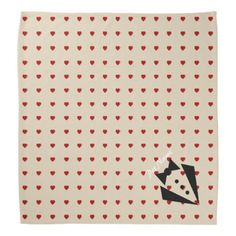 Hearts Abound Pet Bandana - valentines day gifts love couple diy personalize for her for him girlfriend boyfriend