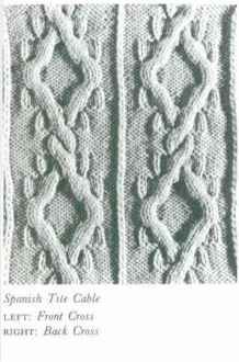 Cluster Cable - Knitting Patterns - Jo Ann's Knitting Blog
