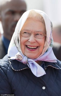 The Queen braves chilly weather at Royal Windsor Horse Show
