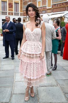 Jacqueline MacInnes Wood Photos Photos - Jacqueline MacInnes Wood attends the cocktail party of the Monte Carlo TV Festival at the Monaco Palace on June 2017 in Monte-Carlo, Monaco. Heather Tom, Jacqueline Macinnes Wood, Canadian Actresses, Bold And The Beautiful, Celebration Quotes, Photo On Wood, Lace Shorts, Cool Outfits, Flower Girl Dresses
