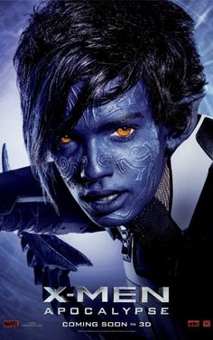 'X-Men: Apocalypse' (2016) Character Poster, Kodi Smit-McPhee