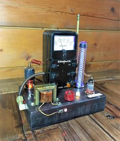 Your place to buy and sell all things handmade Mad Scientist Lab, Vintage Style, Vintage Fashion, Tesla Coil, Steampunk Lamp, Lamp Ideas, Assemblage Art, Steam Punk, Vignettes