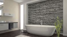 Image result for stack stone wall cladding