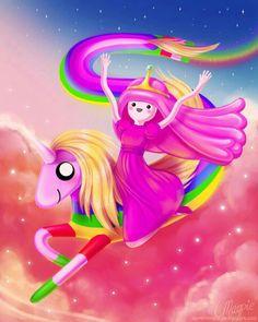 Princess Bubble Gum & Lady Rainicorn