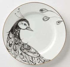 Peacock Dinner Ware