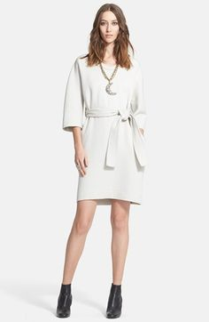 Lanvin Wool Gabardine Dress with Belt available at #Nordstrom