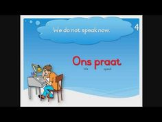 Learn to read, understand and pronounce Afrikaans words and sentences. This is a free Afrikaans reading course for primary school students or anybody who wis. Reading Help, Don't Speak, Afrikaans, Learn To Read, Primary School, Homework, Sentences, Student, Learning